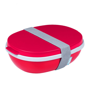 Mepal - Lunchbox Ellipse Duo Nordic Red 107640074500