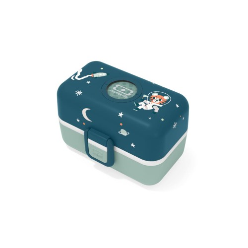 Lunch box dziecięcy Monbento TresorGraphic Cosmic Blue 17014023
