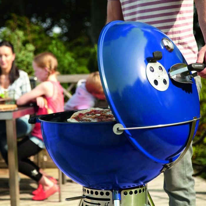 Grill węglowy Weber Master-Touch GBS C-5750 Ocean Blue 14716004
